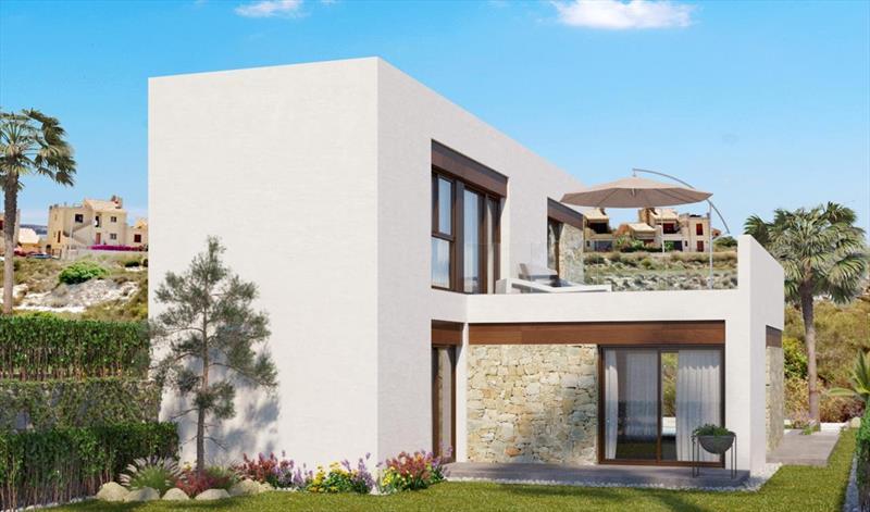 Villa te koop Costa Blanca Algorfa La Finca gevel.
