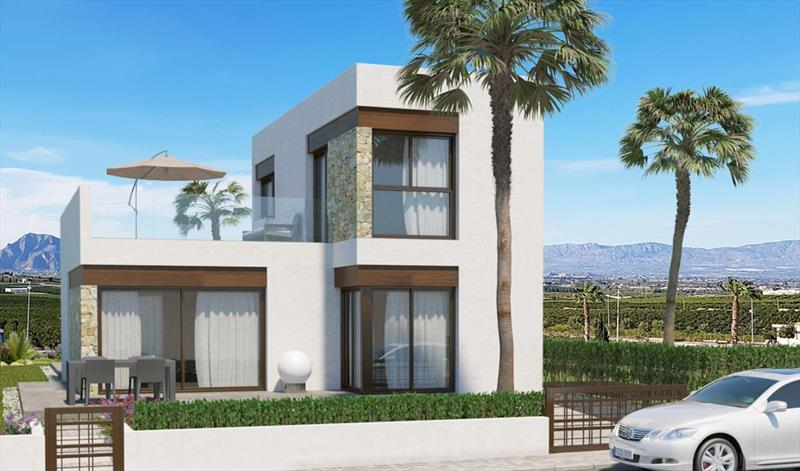 Villa te koop Costa Blanca Algorfa La Finca front.