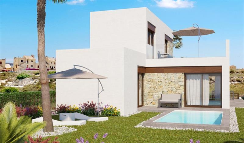 Villa te koop Costa Blanca Algorfa La Finca zwembad.