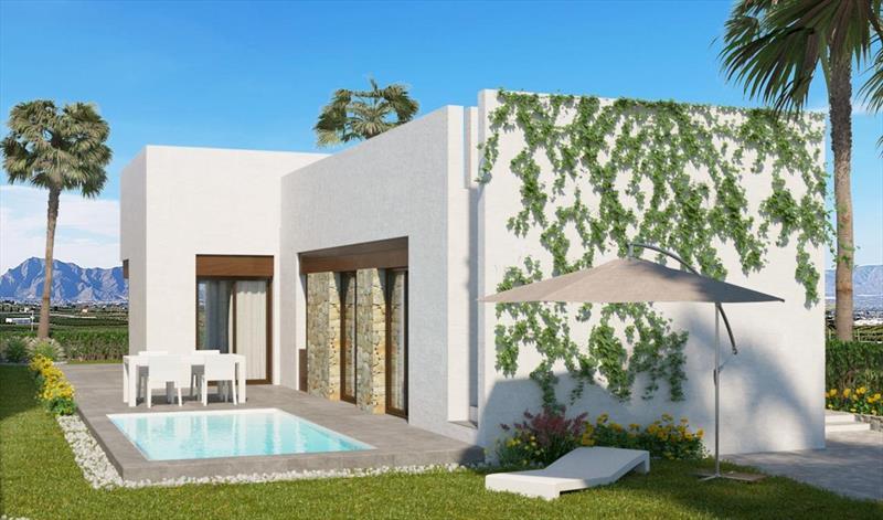 Villa te koop Costa Blanca Algorfa La Finca tuin.