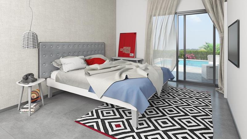 te koop villa Al Gorfa La finca Costa Blanca zuid slaapkamer.