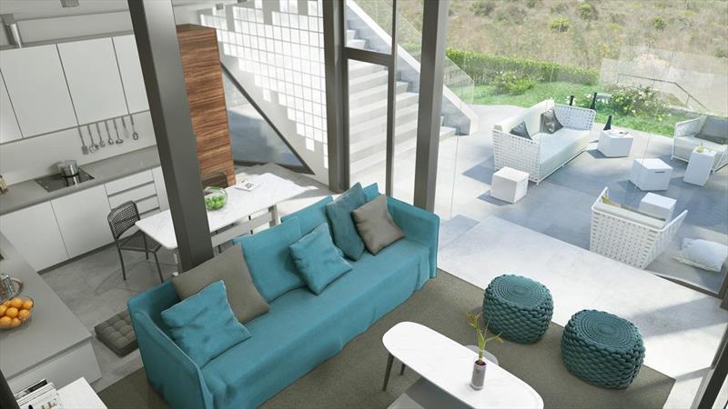 te koop villa Al Gorfa La finca Costa Blanca zuid zicht terras.
