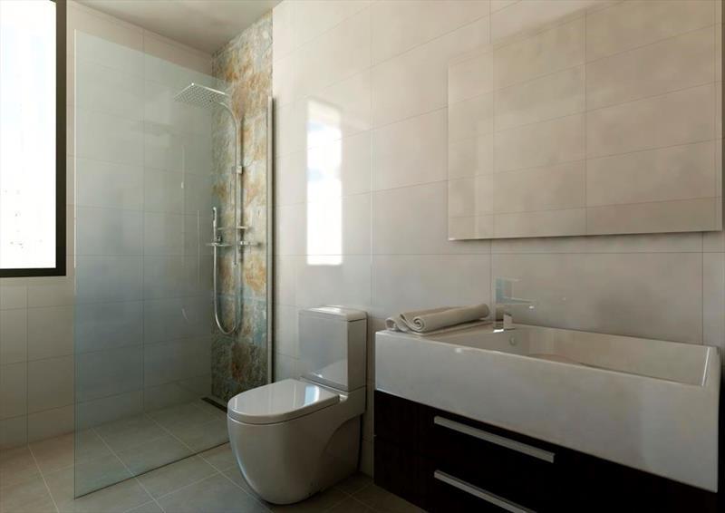 te koop vrijstaande villa Algorfa Costa Blanca Spanje badk.
