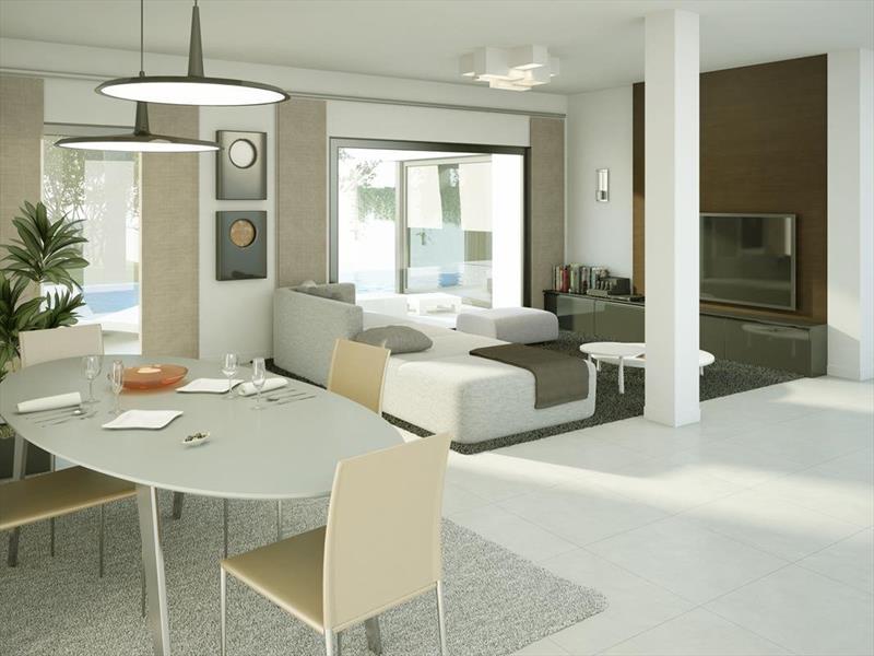 te koop vrijstaande villa Algorfa Costa Blanca Spanje wk.