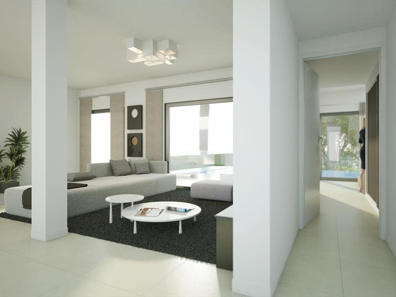 te koop vrijstaande villa Algorfa Costa Blanca Spanje zit.