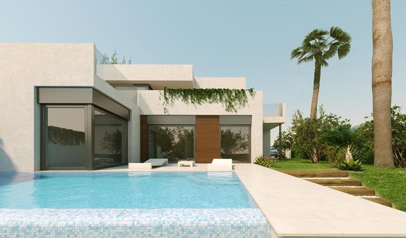 te koop vrijstaande villa Algorfa Costa Blanca Spanje geheel.