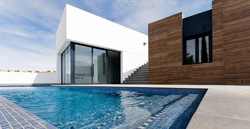 te koop vrijstaande villa Algorfa Costa Blanca Spanje zwembad.