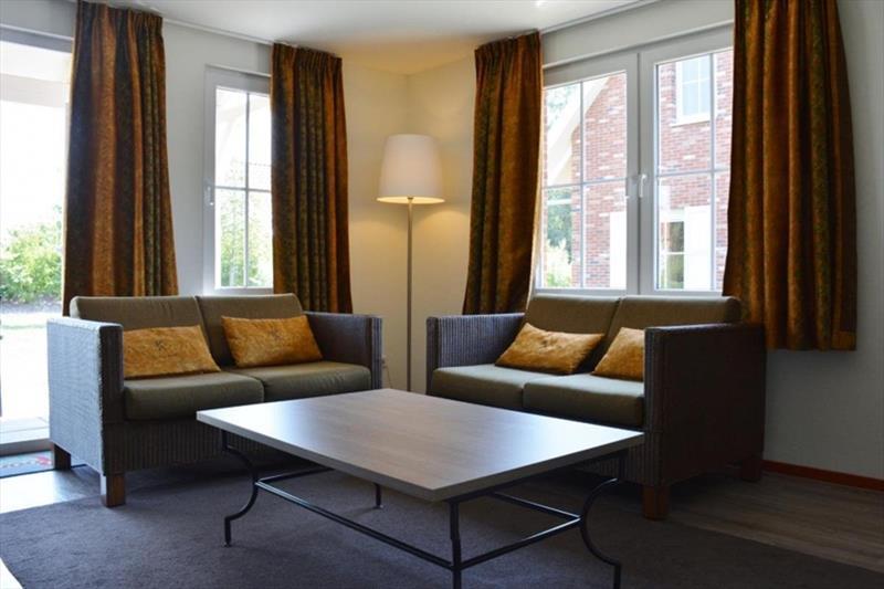 Vakantiehuis te koop in Arcen Limburg Klein vink woonkamer