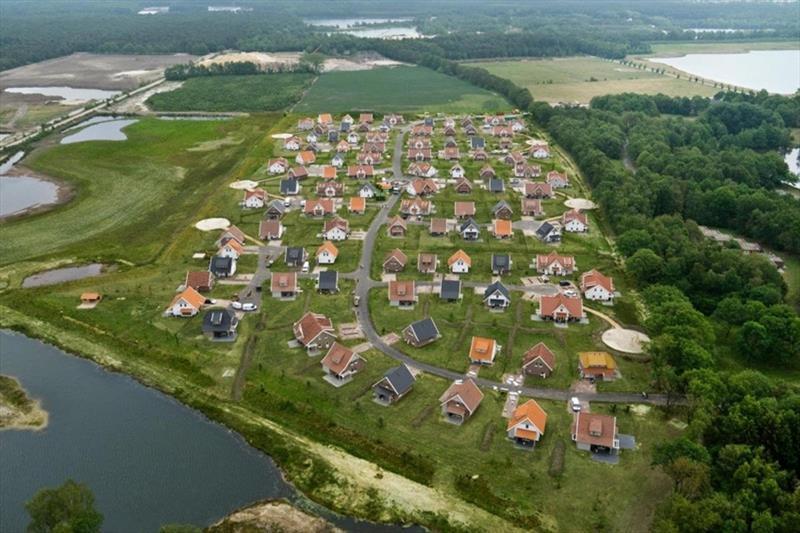 Vakantiehuis te koop in Arcen Limburg park Klein Vink luchtfoto