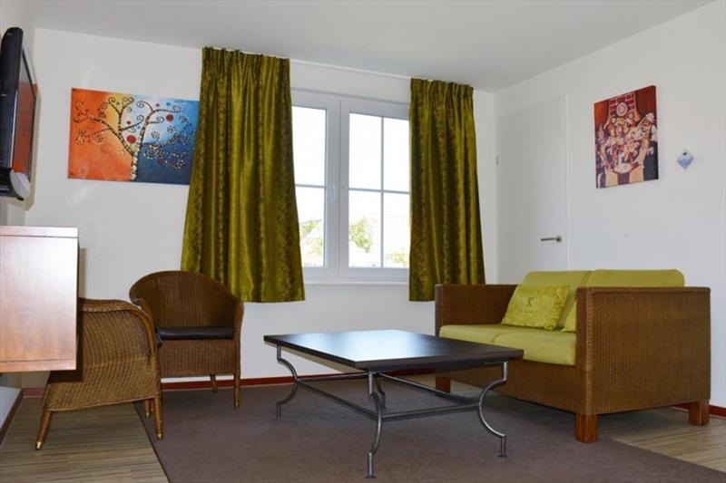 Vakantiehuis te koop in Arcen Limburg park Klein Vink woonkamer