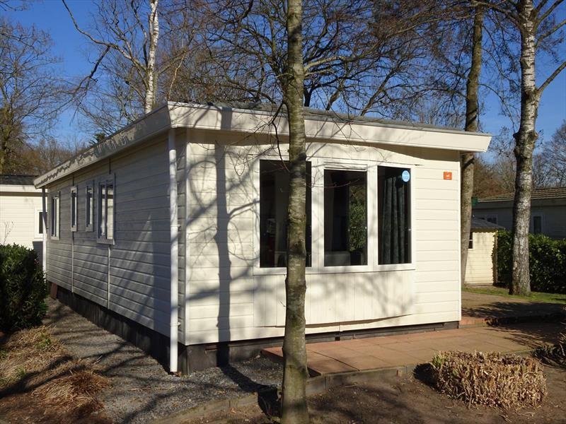 Vakantiehuis te koop Gelderland Arnhem. Achterzijde