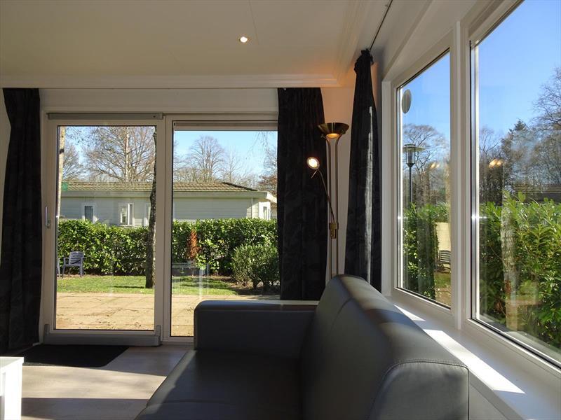 Vakantiehuis te koop Gelderland Arnhem Koningsweg 14 Ka9 Droompark De Hooge Veluwe Woonkamer