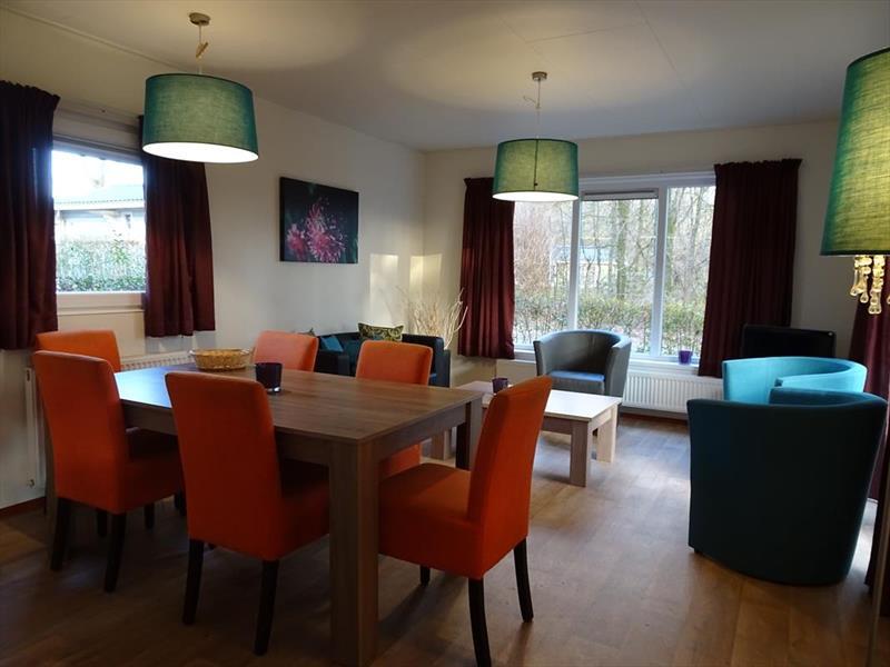 Vakantiehuis te koop Limburg Belfeld Maalbekerweg 25 K22  Droompark Maasduinen Woonkamer