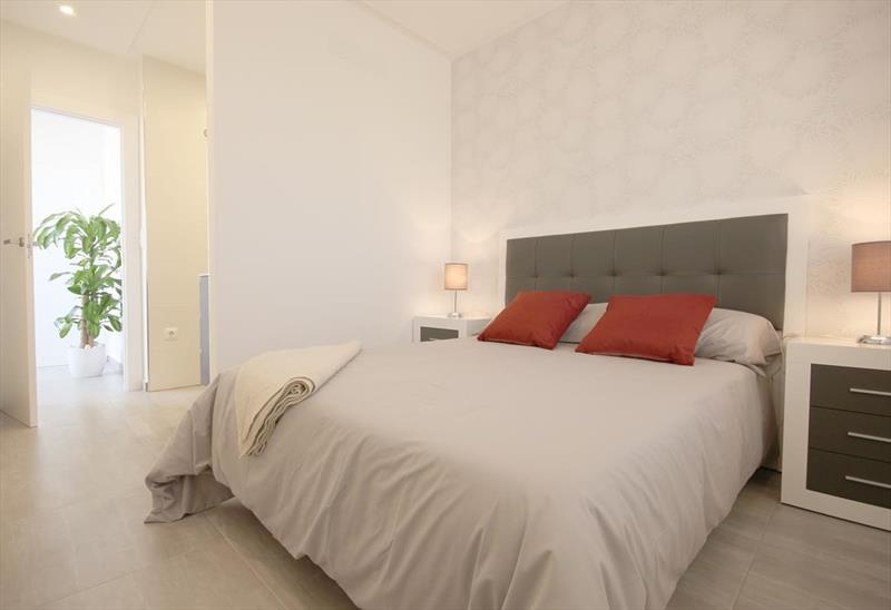 Vakantiehuis kopen Spanje Costa Blanca Benijofar slaapkamer.