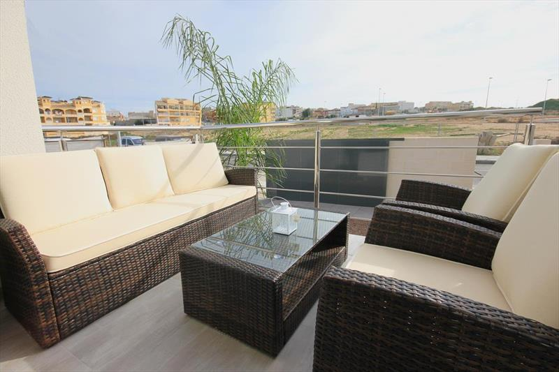 Vakantiehuis kopen Spanje Costa Blanca Benijofar zicht.