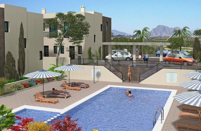Vakantiehuis kopen Spanje Costa Blanca Benijofar zwembad.
