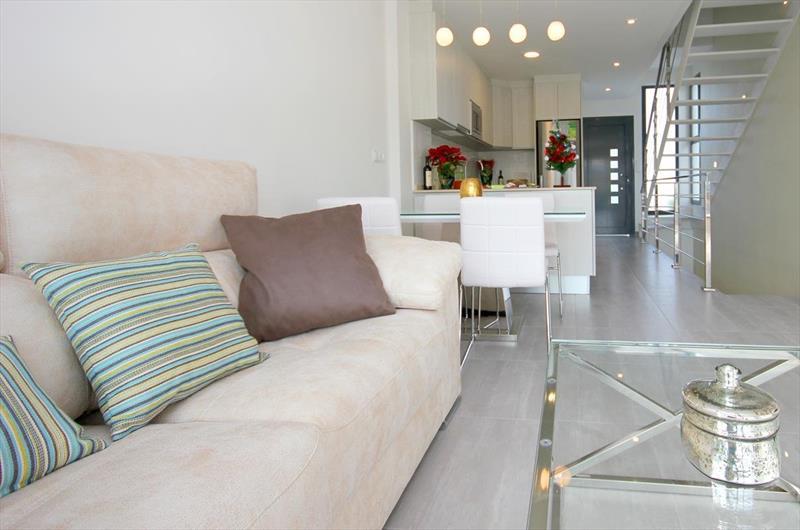 Vakantiehuis kopen Spanje Costa Blanca Benijofar zithoek.