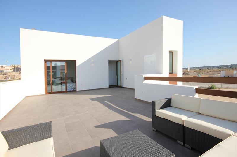 Vakantiehuis kopen Spanje Costa Blanca Benijofar dakterras.