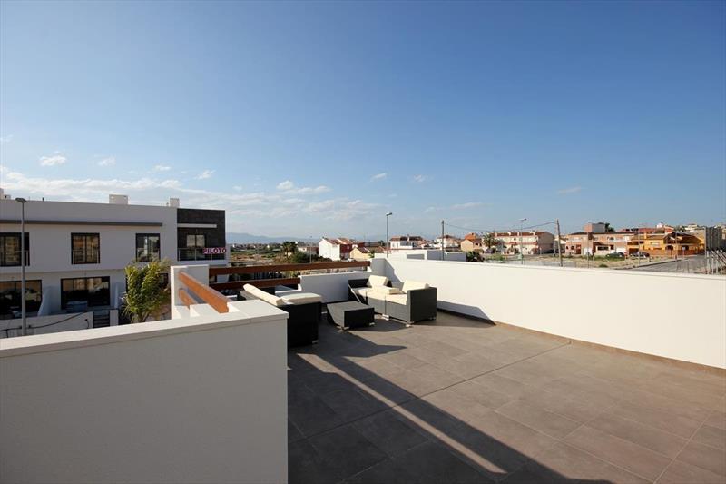 Vakantiehuis kopen Spanje Costa Blanca Benijofar solarium.