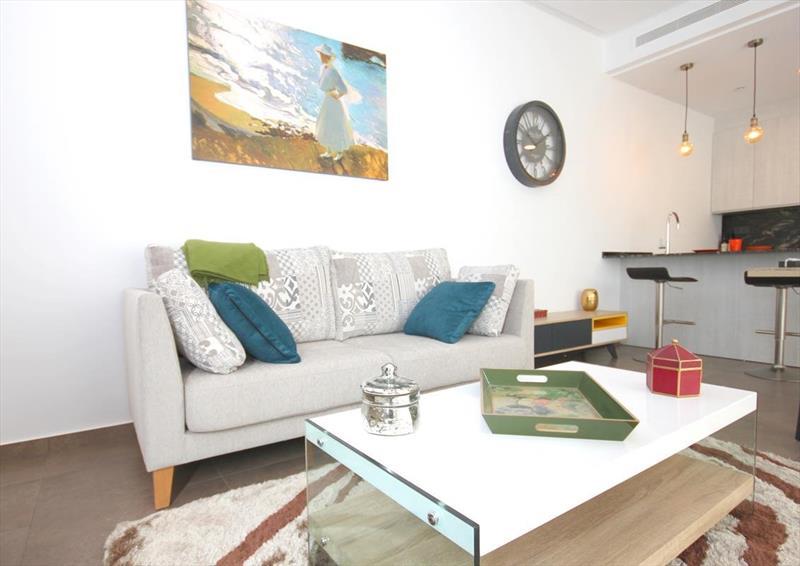 Vakantiehuis kopen Spanje Costa Blanca Benijofar woonkamer.