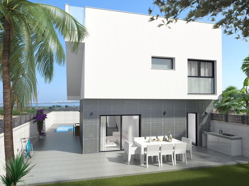Huis kopen in Spanje Costa Blanca Natura park. terras.