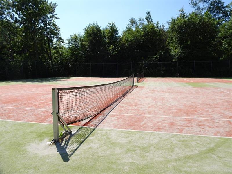 Vakantiehuis te koop Zeeland Bruinisse Groeneweg 1 K61 Tennisbaan Park Aquadelta  Terras met uitzicht