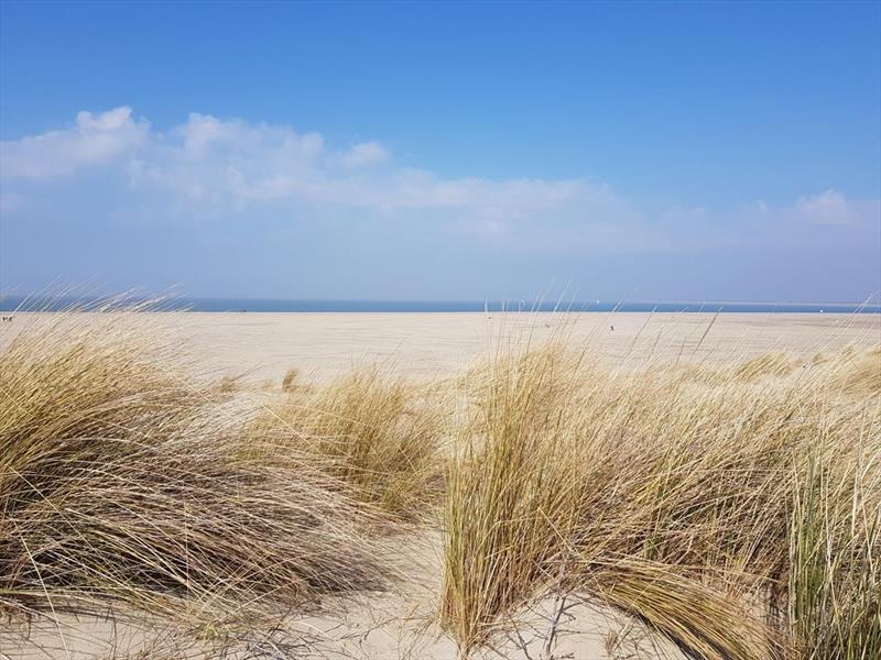 Vakantiehuis te koop Zeeland Bruinisse Groeneweg 1 K61 Nabij Noordzee strand Park Aquadelta  Terras met uitzicht