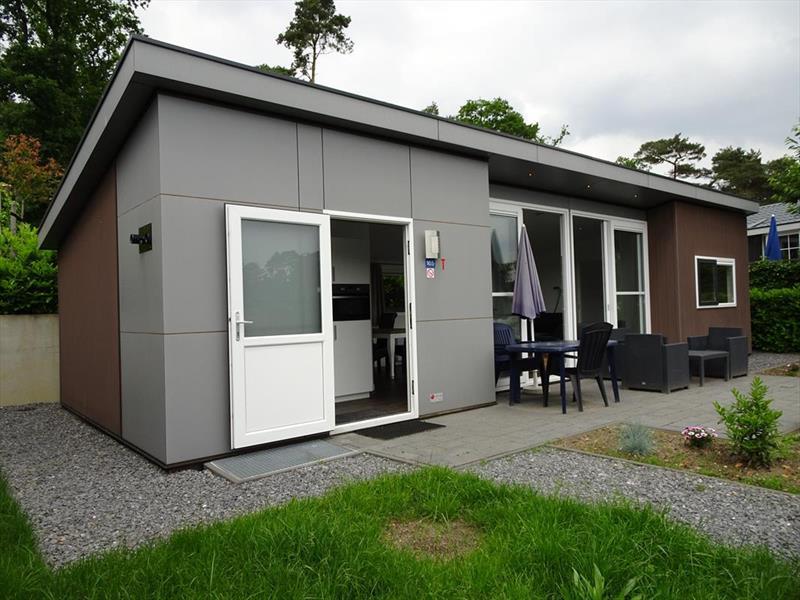 Vakantiehuis te koop Limburg Brunssum Akerstraat 153 K165 Resort Brunssummerheide Tuin