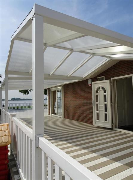 Vakantiehuis te koop Zuid Holland Park De Biesbosch Terras