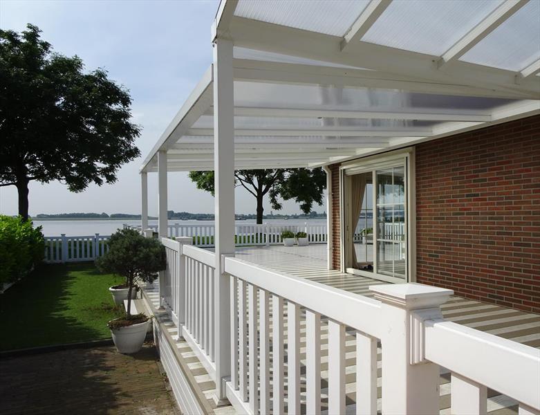 Vakantiehuis te koop Zuid Holland Park De Biesbosch Tuin en terras