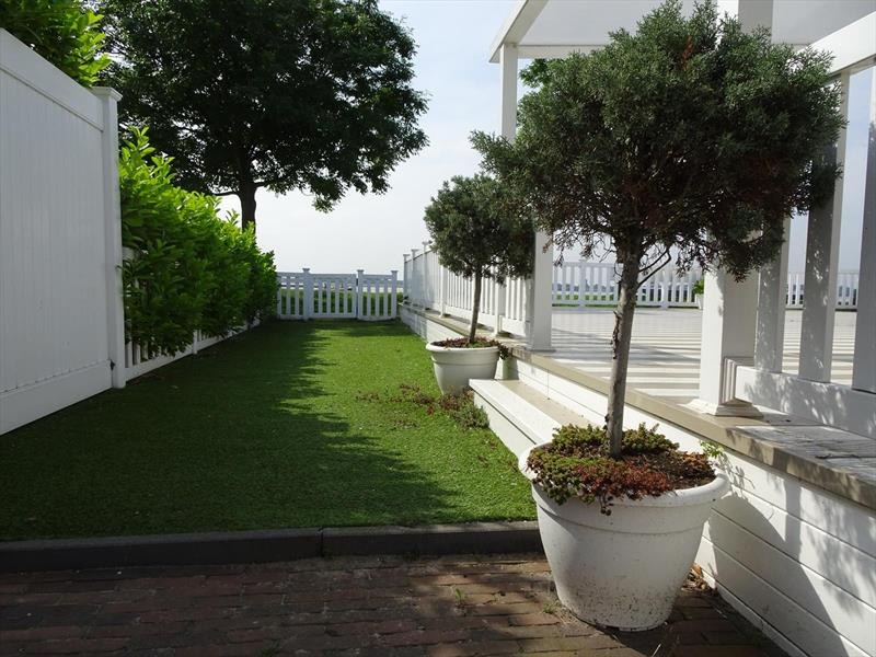 Vakantiehuis te koop Zuid Holland Park De Biesbosch Tuin