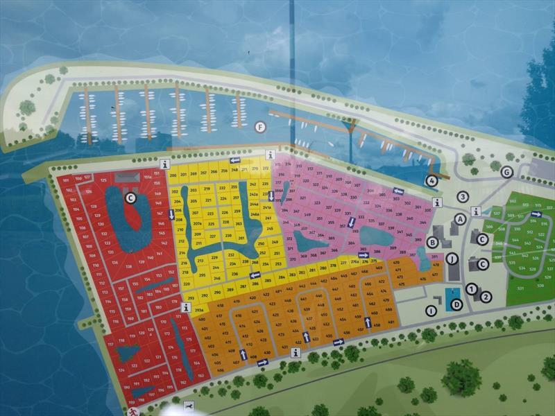 Vakantiehuis te koop in Dordrecht plattegrond vakantiehuis