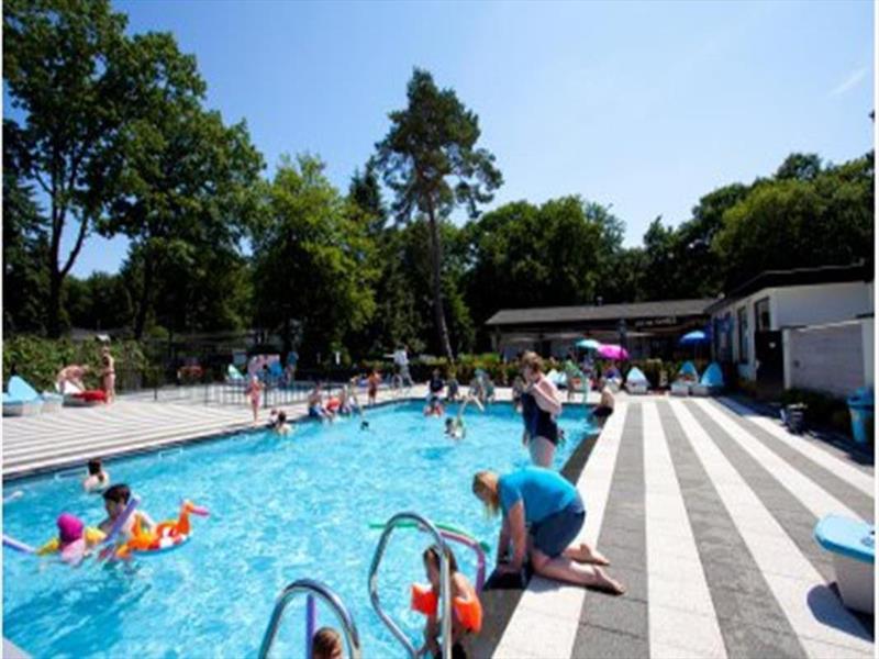 Vakantiehuis te koop Gelderland Ede Zonneoordlaan 47 K86 Toppark Bospark Ede Op het park