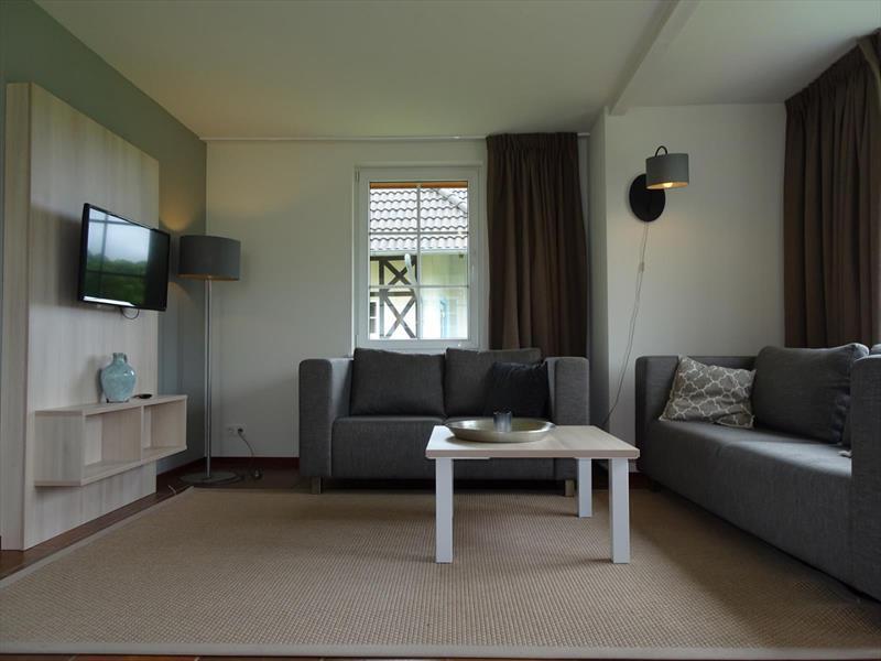 Vakantiehuis te koop woonkamer