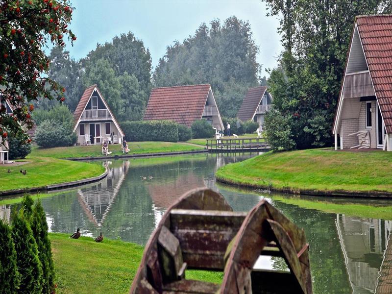 Vakantiehuis te koop Overijssel Gramsbergen Boslaan 1 Op het park