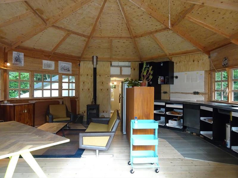 Vakantiehuis te koop Noord-Brabant Heeswijk Dinther Laverdonk 5 Woonkamer en keuken
