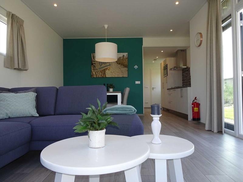 Vakantiehuis te koop in Hellevoetsluis woonkamer