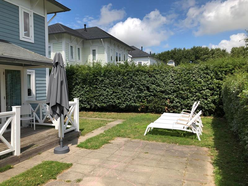 Vakantiehuis te koop Z.Holland Hellevoetsluis Nieuwe Zeedijk 1 K43 Park Cape Helius Achtertuin