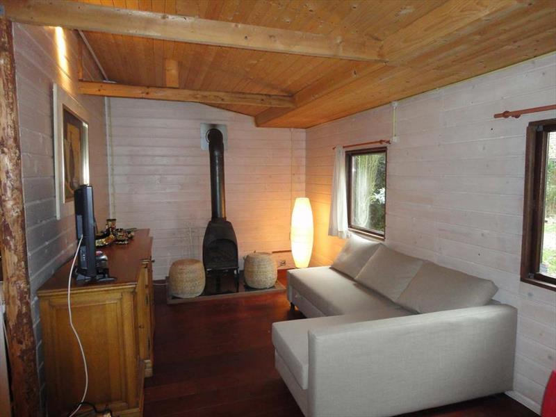 Vakantiehuis te koop Gelderland Heumen Vosseneindseweg 46 K233 Park Heumense Bos Woonkamer