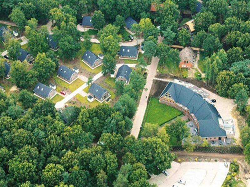 Vakantiehuis te koop Drenthe Hooghalen H.v. Halenweg 2 K57 Park Het Grote Zand Luchtfoto