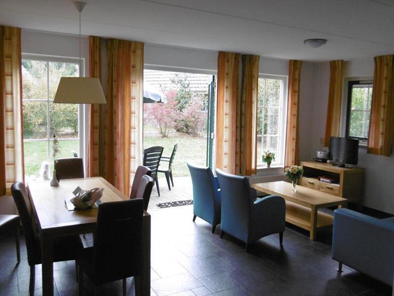 Vakantiehuis te koop Drenthe Hooghalen H.v. Halenweg 2 K57 Park Het Grote Zand Woonkamer