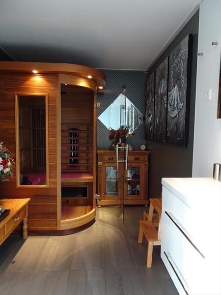 Vakantiehuis te koop in Hulshorst badkamer met infrarood sauna