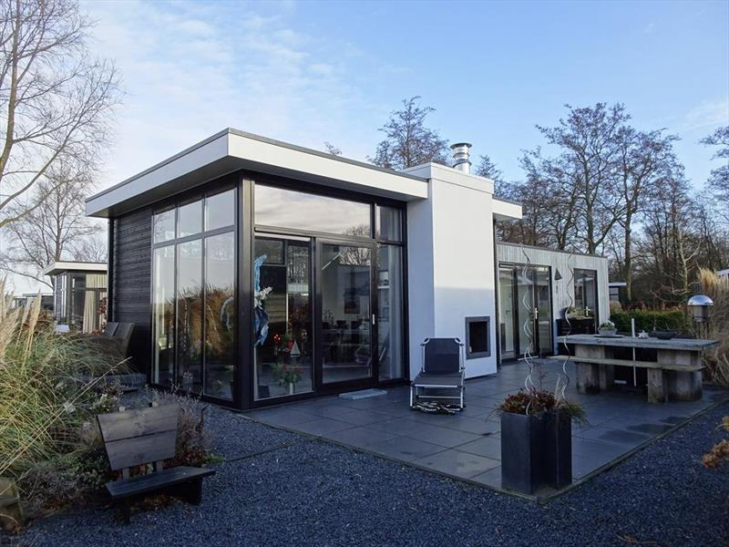 Vakantiehuis te koop in Hulshorst tuin