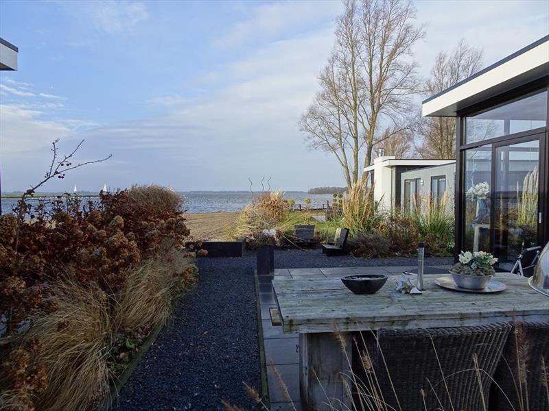 Vakantiehuis te koop in Hulshorst tuin met uitzicht