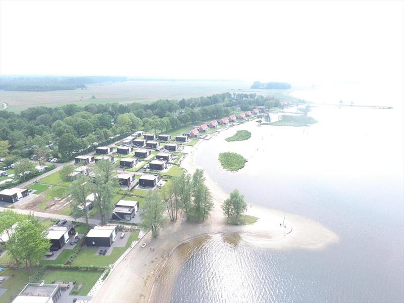 Vakantiehuis te koop in Hulshorst Luchtfoto van het park