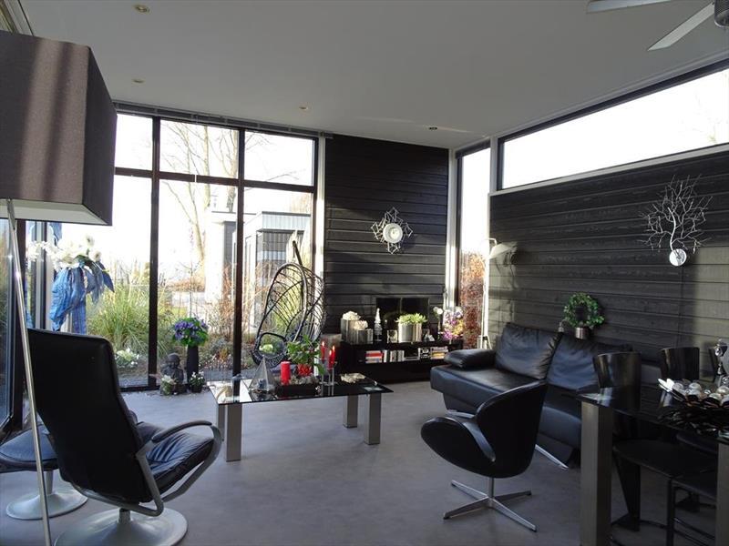 Vakantiehuis te koop in Hulshorst woonkamer