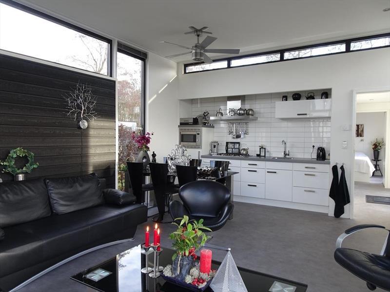 Vakantiehuis te koop in Hulshorst woonkamer met eetkamer