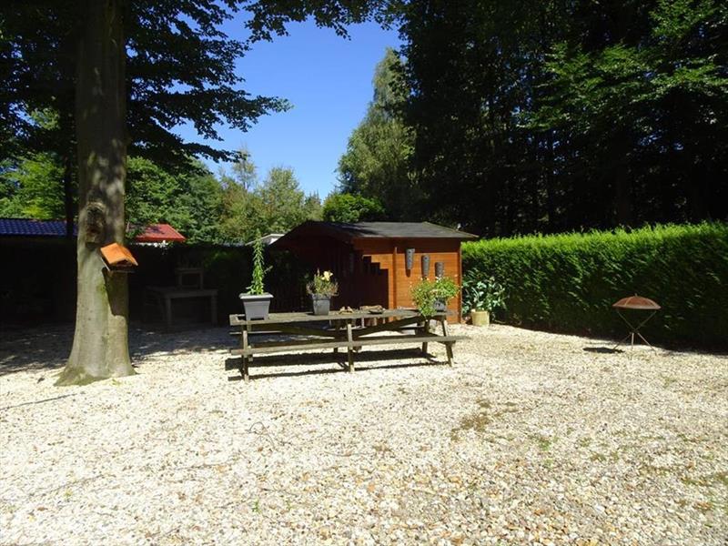 Vakantiehuis te koop Flevoland Kraggenburg Leemringweg 33 K S019 Park De Voorst Tuin en berging