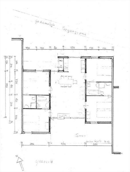 Vakantiehuis te koop Gelderland Lochem Vordenseweg 6 K233 Buitencentrum Ruighenrode Bouwtekening