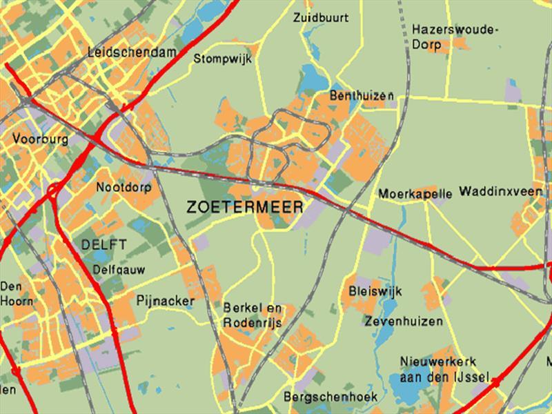 Vakantiehuis te koop  Zuid Holland Moerkapelle Luchtfoto van Moerkapelle